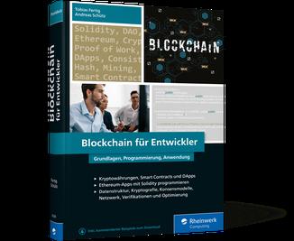 Cover Blockchain für Entwickler
